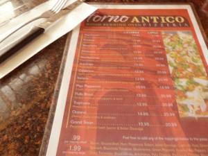 Forno_Antico_Pizzeria_Menu