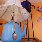 Suzi Silhanek Teapot Lamp