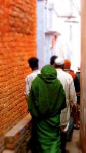 India's narrow alleyways