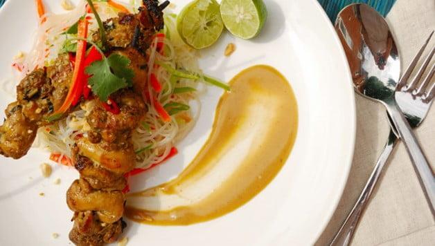 Thai_Summer_Satay_Salad - Food Gypsy