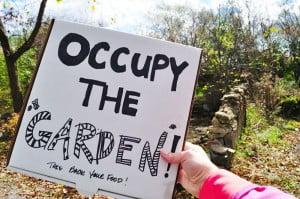 Occupy the Garden - Food Gypsy