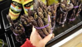 Purple Asparagus, Food Gypsy
