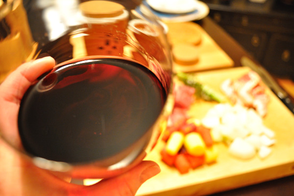 A little wine for the cook, Food Gypsy
