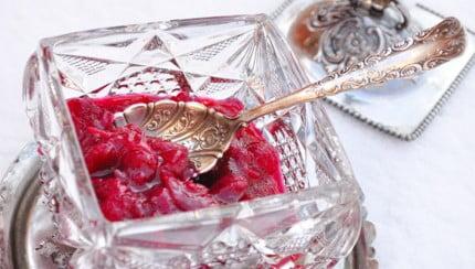 Boozy Cranberry-Orange Sauce