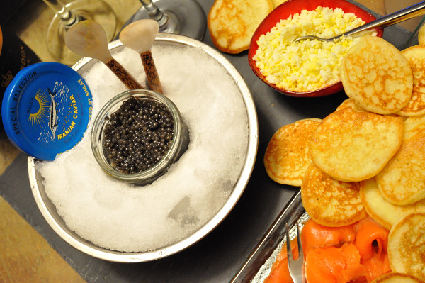 Caviar feast - Food Gypsy