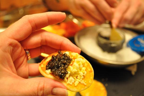 Caviar and Champagne - Food Gypsy