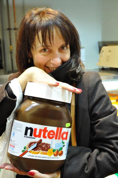 5K jar of Nutella - Food Gypsy