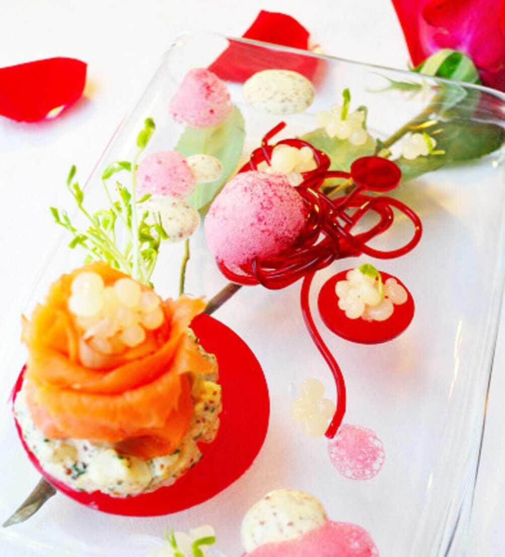 A molecular valentine food gypsy - Molecular gastronomy cuisine ...