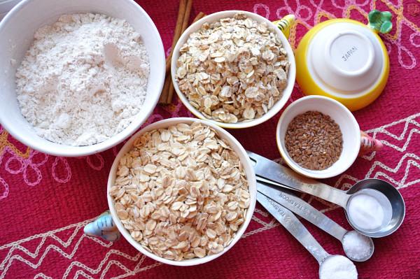 Spelt, barley, flax & oats - Food Gypsy