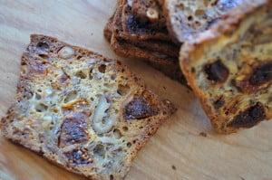 Fig Walnut Thyme Crisps with Prosciutto & Parmesan - Food Gypsy