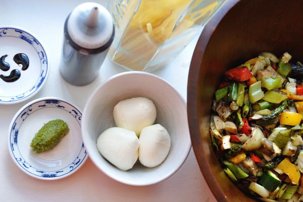 Grilled Vegetable Pasta, Ingredients - Food Gypsy