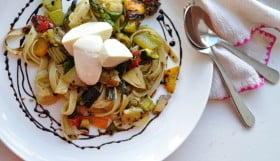 Grilled Vegetable Pasta - Food Gypsy