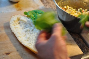 Hollow the bread - Food Gypsy