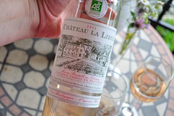 Château La Lieue Coteaux Varois en Provence rosé 2011 - Food Gypsy
