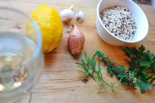 Lemon Herb Rice, Ingredients - Food Gypsy