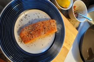 Dry & season your salmon - Food Gypsy