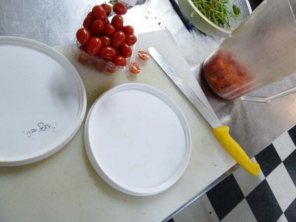 Two lids & a bread knife - Food Gypsy