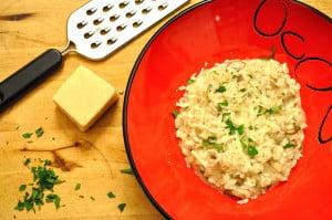 Mushroom Risotto - Food Gypsy