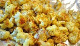 Curry Roasted Cauliflower - Food Gypsy