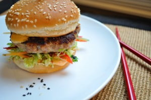 The Amazin' Asian Burger - Food Gypsy