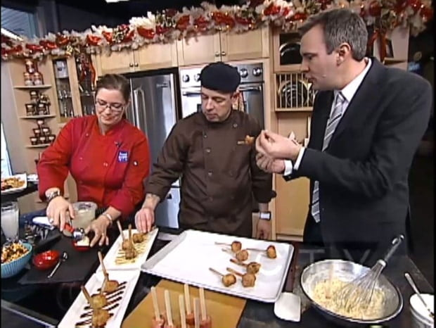 Gypsy & Chef B with Jeff Hopper on CTV Morning Live.