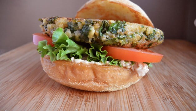 Kale & Quinoa Gardino Burgers - Food Gypsy