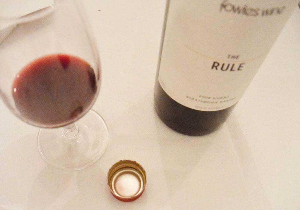 The Rule, Fowles Wine - Food Gypsy