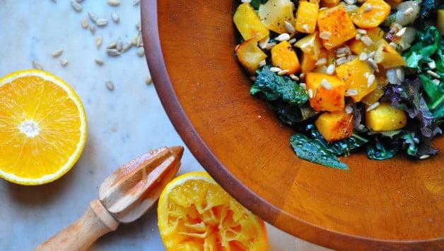 Roasted Pumpkin Apple & Onion - Food Gypsy