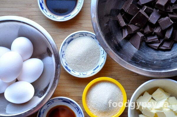 Chocolate Torte, ingredients - FG