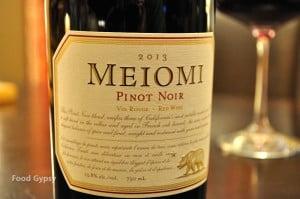Meiomi Pinot Noir - Food Gypsy