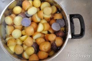 Boiled potatoes - FG