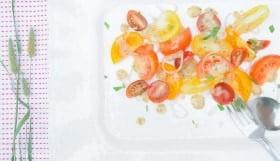 Tomato Salad with Dijon Vinaigrette - Food Gypsy