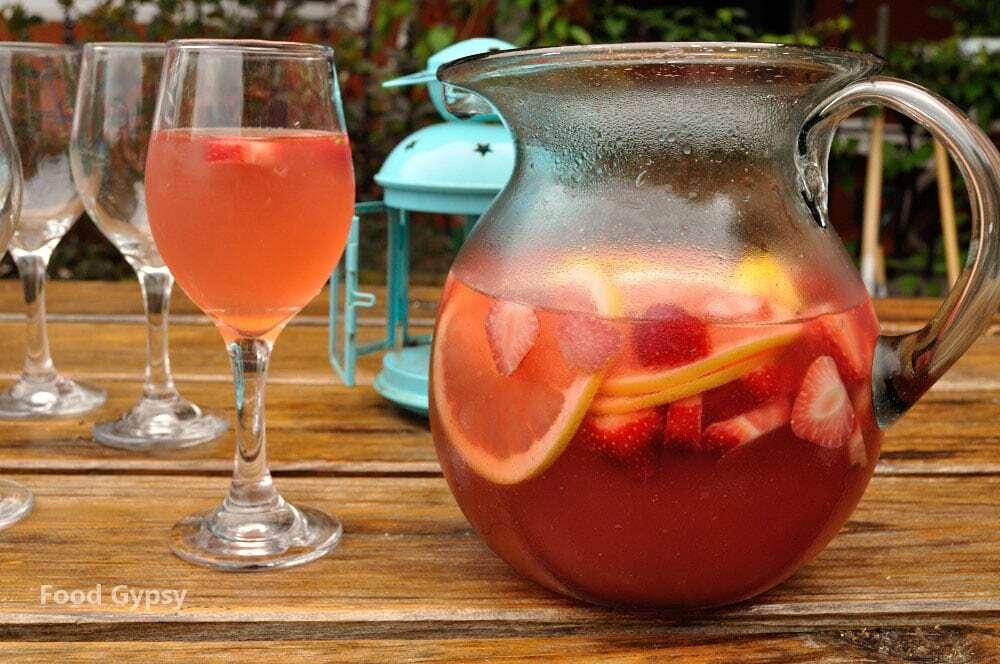 Rosé Sangria Recipe - FG