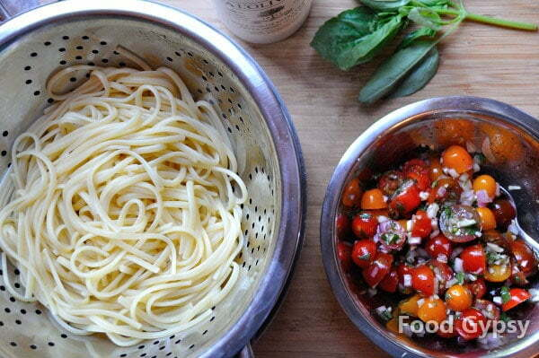 Summer Spaghetti, ready to toss - FG
