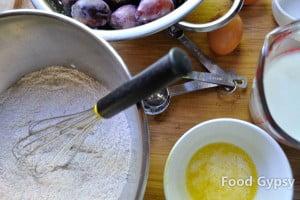 Buttermilk Plum Küchen Ingredients - FG