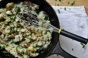 Smashed Roasted Garlic Potatoes - Food Gypsy