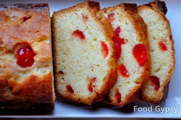 Kirsch Cherry Pound Cake - FG