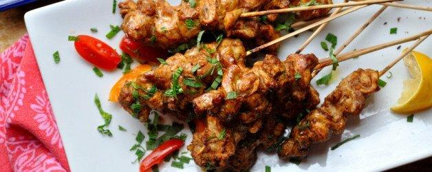 Turkish Chicken Skewers - Food Gypsy