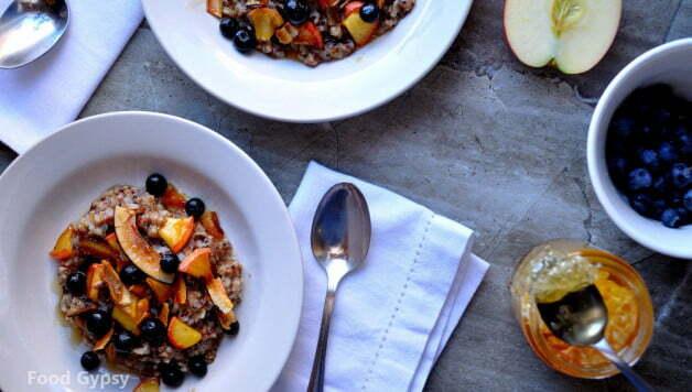 5 Grain Porridge, anti-inflammatory diet - Food Gypsy