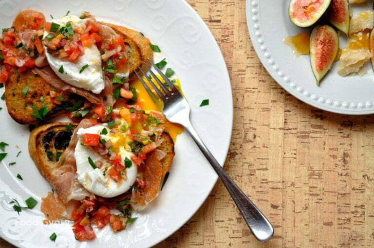 Breakfast in Tuscany, Italian Poached Eggs - Food Gypsy