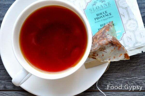 Sloane Tea, Rouge Provence - FG