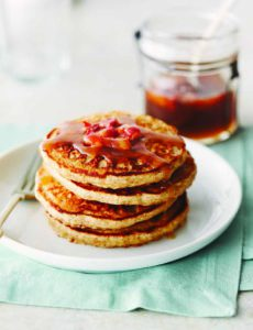 Oatmeal Pancakes, Real Food, Real Good