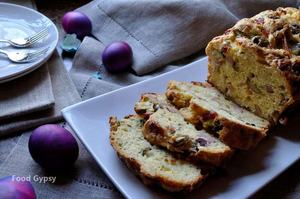 Ham cheese quick bread food gypsy hamcheesebreakfastloafrecipe foodgypsy forumfinder Image collections
