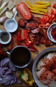 Chicken Chorizo Recipe Ingredients